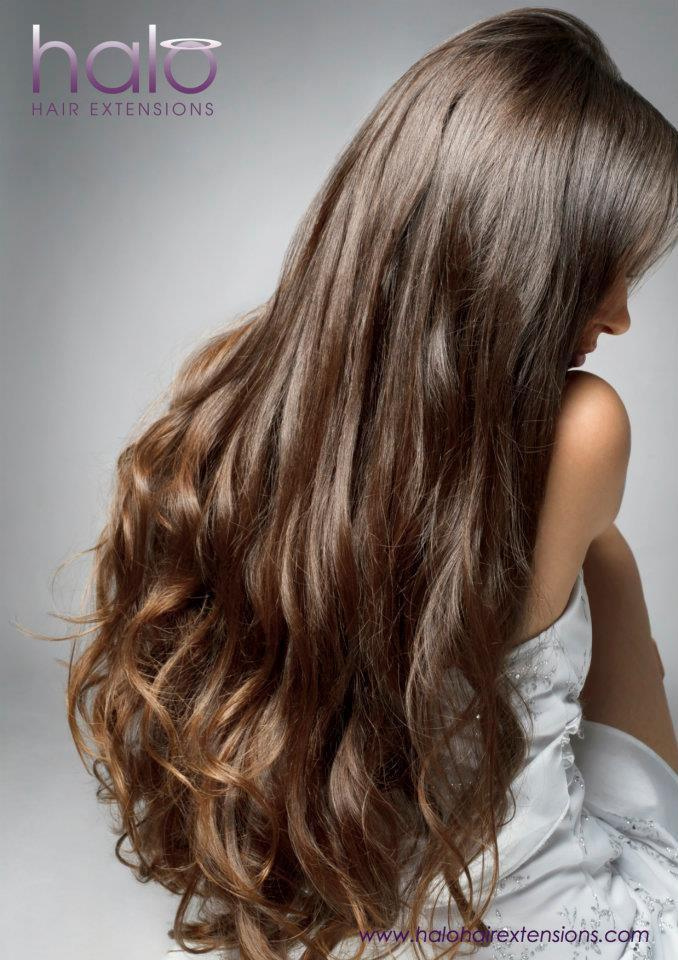 Remy Hair Extensions Halo 61